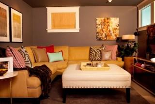 طراحی دکوراسیون داخلی خانه و منزل با رنگهای متنوع و جذاب