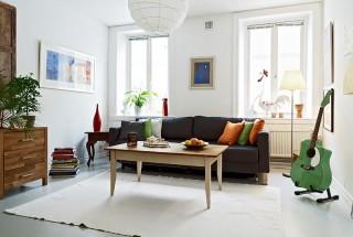 طراحی اتاق پذیرایی آرامش بخش - دکوراسیون اتاق نشیمن