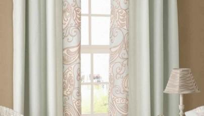 مدل پرده مناسب پنجره کوچک با طرح های شیک و فانتزی