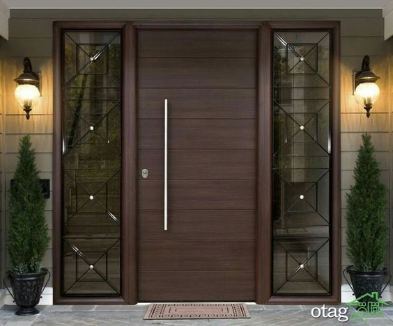 45 مدل درب چوبی آپارتمان مدرن و زیبا [در سال جدید]
