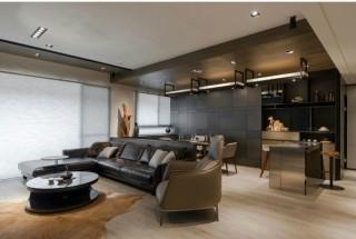 استفاده از سنگ و چوب تیره در دکوراسیون داخلی منزل
