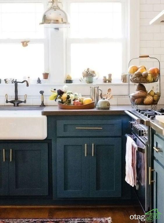 40 مدل جدیدترین مدل کابینت آشپزخانه 2016 تا 2019 + عکس دکوراسیون آشپزخانه