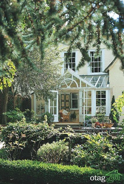 راهنمای تزئین دکوراسیون حیاط خانه های ویلایی +34 مدل جدید