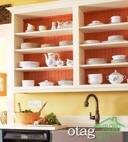 25 مدل طراحی داخل کابینت آشپرخانه و عکس دکوراسیون داخلی آشپزخانه +عکس