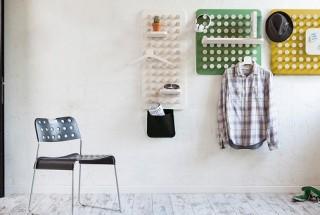 مدل های جدید رخت آویز دیواری چند کاره و تنظیم پذیر / عکس
