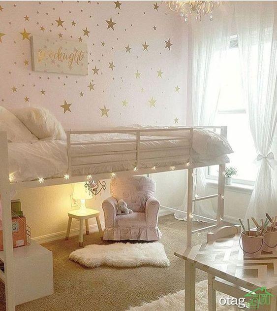 25 مدل تزیین دیوار اتاق کودک [2019] طراحی و نقاشی اتاق کودک مدرن