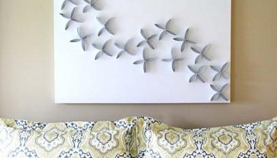 دکوری های دیواری شیک با طراحی هنری اما ساده و قیمت ارزان