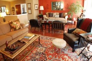 مدل فرش جدید - دکوراسیون منزل با فرش ایرانی - طرحهای قالی ناب ایران