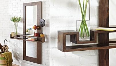 مدل های جدید آینه و کنسول مناسب راهروی ورودی منزل