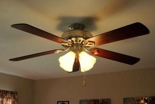 مدل جدید پنکه سقفی با چراغ روشنایی و طرحی مدرن و تزیینی