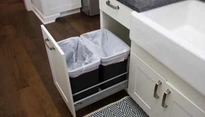 مدل های بسیار زیبای سطل زباله کابینتی و مستقل برای آشپزخانه