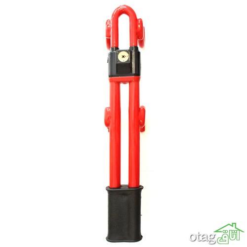 خرید 32 مدل قفل فرمان و قفل پدال خودرو (ارسال رایگان) مطمئن و جدید
