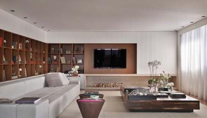 بررسی معماری داخلی منزل لوکس و فوق العاده شیک در کشور برزیل