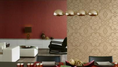 مدل کاغذ دیواری جدید برای دیوارهای بزرگ و بلند در منزل