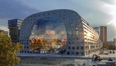 نمای داخلی و خارجی پاساژ / آپارتمان مدرن و لوکس در هلند