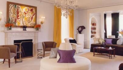 استفاده از رنگ های متفاوت و متنوع در دکوراسیون خانه