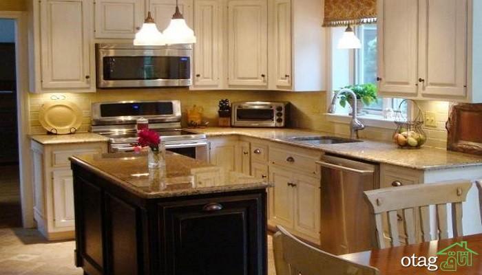 مدل های خیره کننده جزیره آشپزخانه جدید و مدرن (در سال 2019) با طراحی خلاقانه
