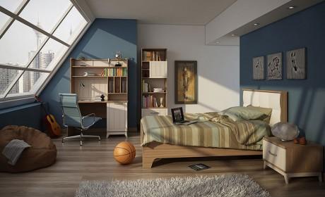 32 مدل تخت خواب یک نفره نوجوان / دکوراسیون اتاق خواب جوان تک نفره
