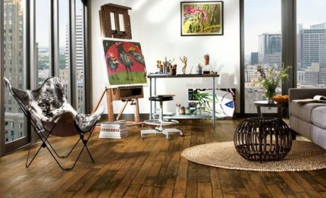 25 مدل انواع کفپوش منزل پی وی سی و چوبی [شیک و مدرن] + عکس