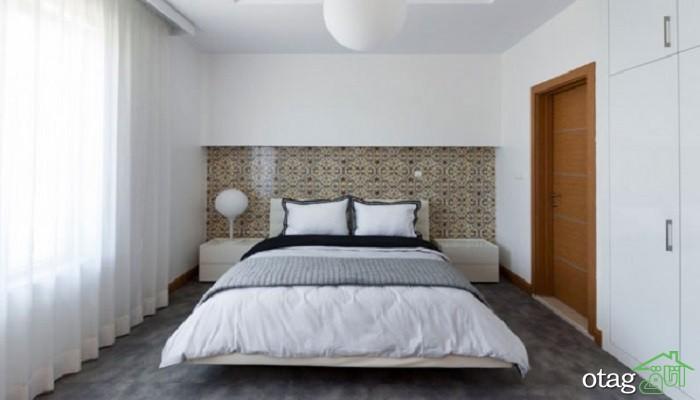 48 مدل کاغذ دیواری اتاق خواب [ فوق لوکس ] با رنگ شاد و زیبا - 2019
