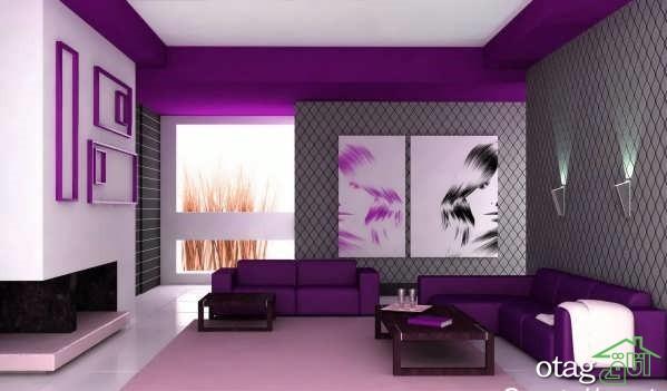 34 مدل تزیین دیوار منزل با مدل های جدید کاغذ دیواری 2019
