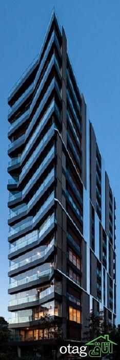 26 مدل طرح و مدل عکس نمای کامپوزیت ساختمان مدرن [بسیار لوکس]