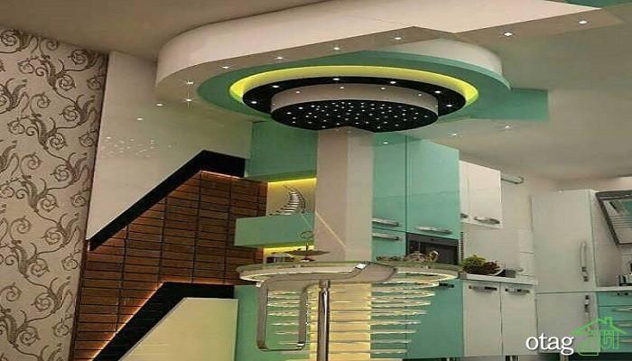 38 مدل کناف سقف آشپزخانه جدید و مدرن [در سال 2019] در خانه های امروزی