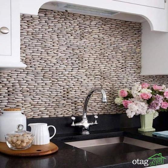29 مدل جدید چیدمان کاشی آشپزخانه [ مدرن و شیک ] با رنگ های خاص