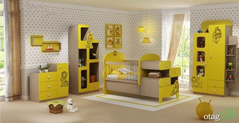 34 مدل سرویس خواب نوزاد [فوق لوکس] با چیدمان برای دختر و پسر خردسال