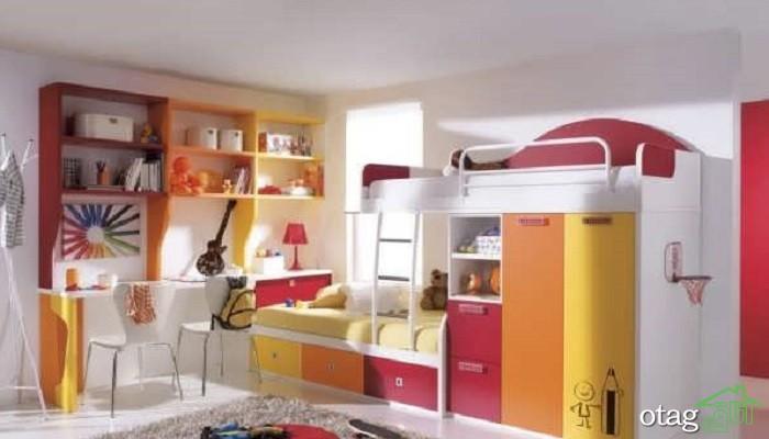 25 مدل تخت دوطبقه جدید مناسب اتاق کودکان [در سال 2019]
