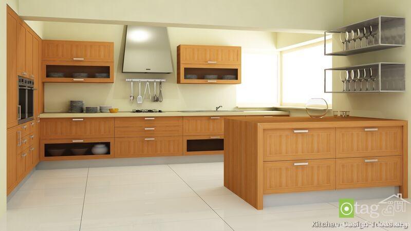 kitchen-cabinets-modern-light-wood