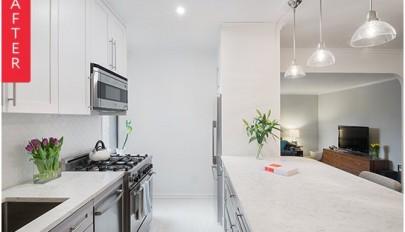 بازسازی دکوراسیون آشپزخانه / تبدیل آشپزخانه بسته به اپن