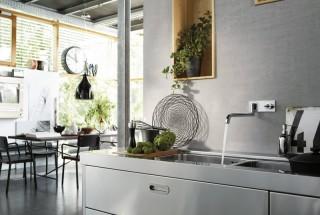انواع مدل شیر آب ظرفشویی زیبا - عکس شیرآلات ساختمانی لوکس و جدید