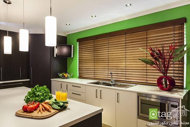Luxurious new kitchen with modern appliances