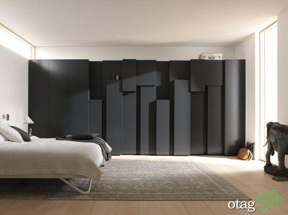 34 مدل کمد دیواری شیک و لوکس در دکوراسیون منزل