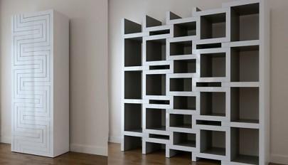 مدل های جدید کتابخانه و قفسه کتاب با طرح و شکل های متنوع