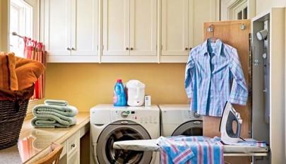 طراحی اتاق لباسشویی با چیدمان شیک و مدرن / عکس 2015