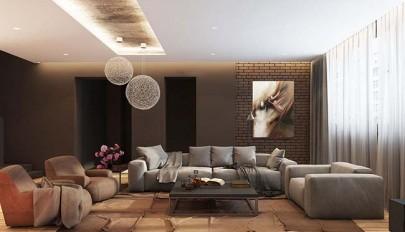 مدل های مدرن لامپ و لوستر اتاق نشیمن با طراحی بی نظیر