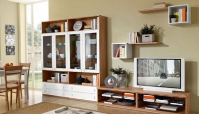 مدل های جدید قفسه دیواری اتاق نشیمن در طرح های مختلف