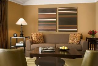 راهنمای انتخاب رنگ اتاق پذیرایی و نشیمن خانه همراه با عکس