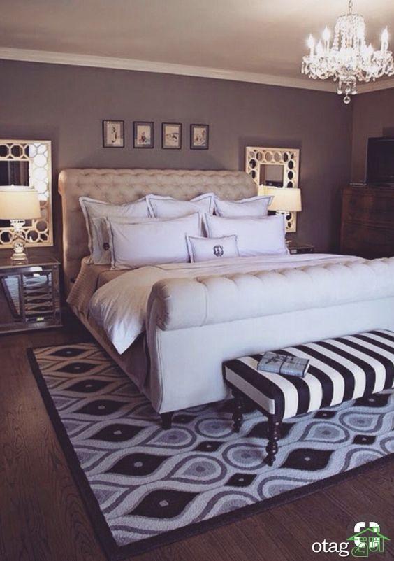 نحوه انتخاب لوستر اتاق خواب شیک + 36 لوستر جدید بازار با قیمت ارزان