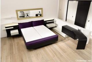 چیدمان مدل اتاق خواب تختخواب دو نفره + عکس - دکوراسیون