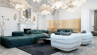 معرفی دو سبک متفاوت در طراحی دکوراسیون لوکس آپارتمان