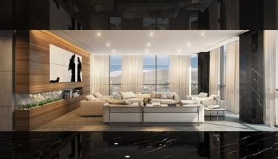 آپارتمان فوق لوکس در تهران با طراحی بسیار شیک و استثنائی