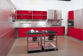 عکس و انواع طرح کابینت آشپزخانه mdf / دکوراسیون ام دی اف شیک