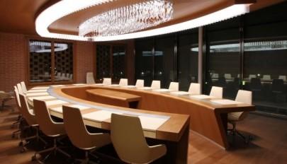 مدل میز کنفرانس اداری با طرح و شکل مجلل و لوکس سال 2015