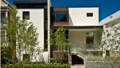 نمای خارجی ساختمان مدرن و امروزی با طراحی های مینمالیستی