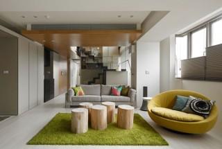چیدمان و دکوراسیون ساده و شیک در آپارتمان و خانه های کوچک