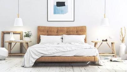 دکوراسیون اتاق خواب به سبک اسکاندیناویایی / عکس 2016