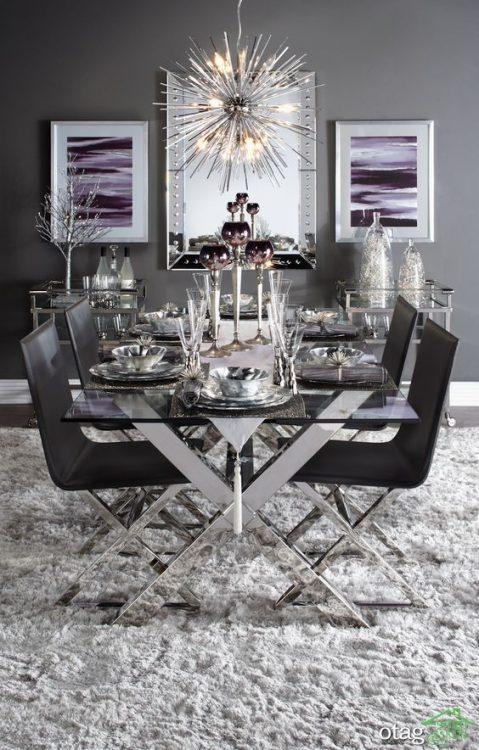 38 مدل میز غذا خوری بسیار زیبا و مدرن